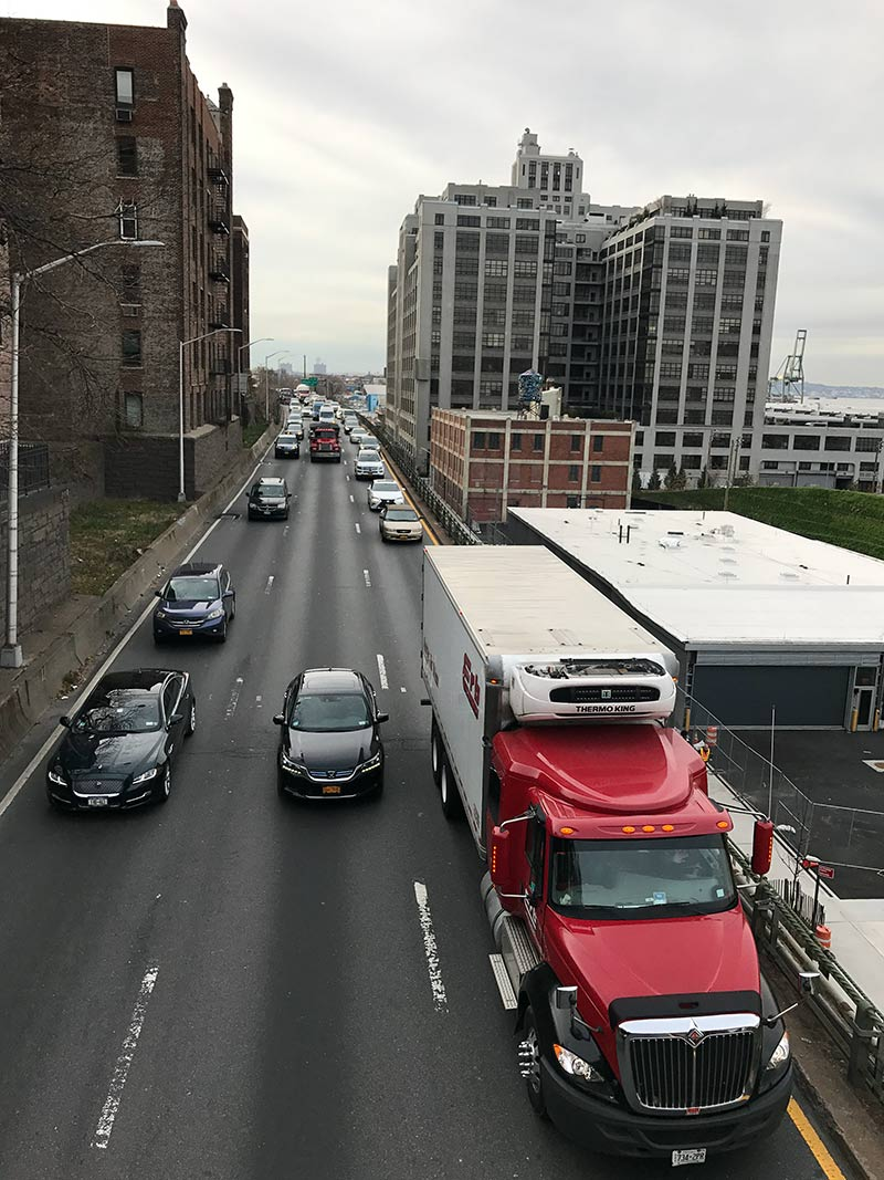 Congestion on the BQE